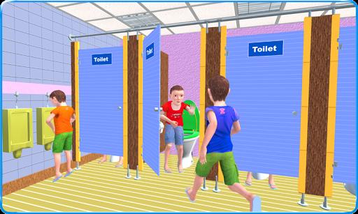 Kids Toilet Emergency Pro 3D android2mod screenshots 1