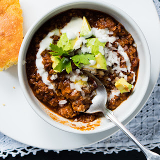 The Lone-Star Beef Chili 🌶️ Ketogenic.