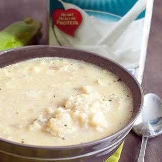 Low Carb Cauliflower Soup.