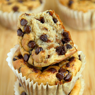 Banana Oat Greek Yogurt Muffins.
