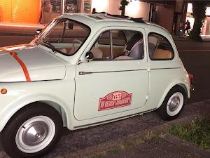 フィアット500  Fiat500D 1963'sのカスタム事例画像 Jimmyさんの2018年06月04日22:38の投稿