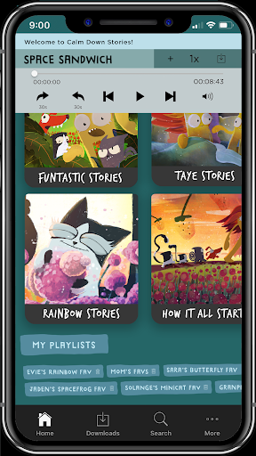 Calm Down Stories - Funtastic audio stories 4 kids screenshot 2