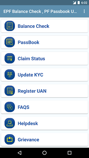 Download EPF Balance Check , PF Passbook UAN App on PC & Mac with