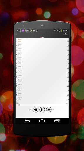 Audio Player for Android 2015