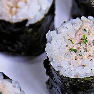 Simple Tuna Mayo Kimbap.