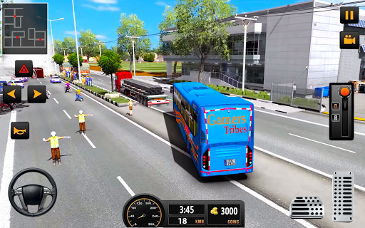 City Coach Bus Driving Simulator: Driving Games 3D 1.1 screenshots 2