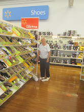Photo: even Nana found a new pair of sandals!
