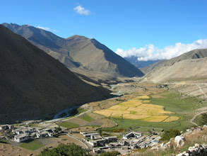 Photo: A Tibetan village above Nyalam