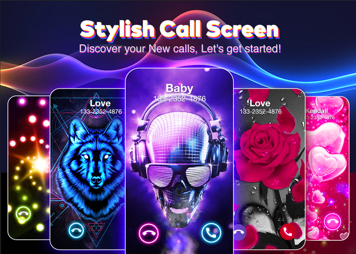 Color Flash Launcher - Call Screen, Themes Android App Screenshot