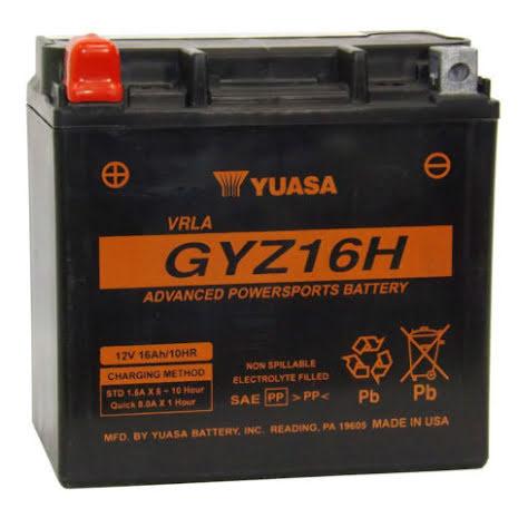 YUASA MC batteri 16Ah GYZ16HL