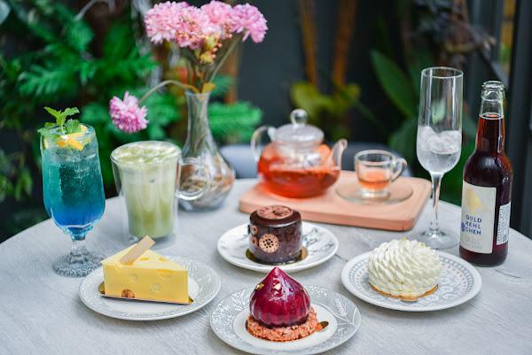 瑞文戴爾Rivendell:台中南屯區美食-屬於女孩的手作甜點,在花草玻璃屋裡浪漫用餐