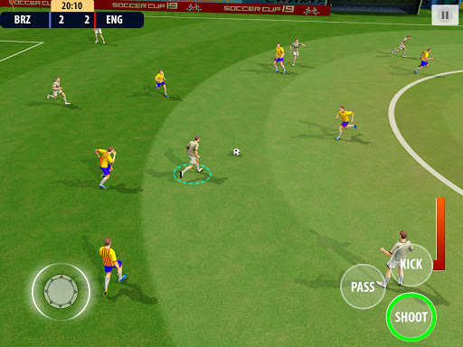 Soccer League Dream 2021: World Football Cup Game apkmr screenshots 11