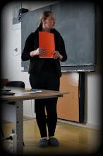 Photo: Středoškolská odborná činnost - soutěžní odpoledne na naší škole (středa 27. březen, kmenová učebna třídy 1. A).