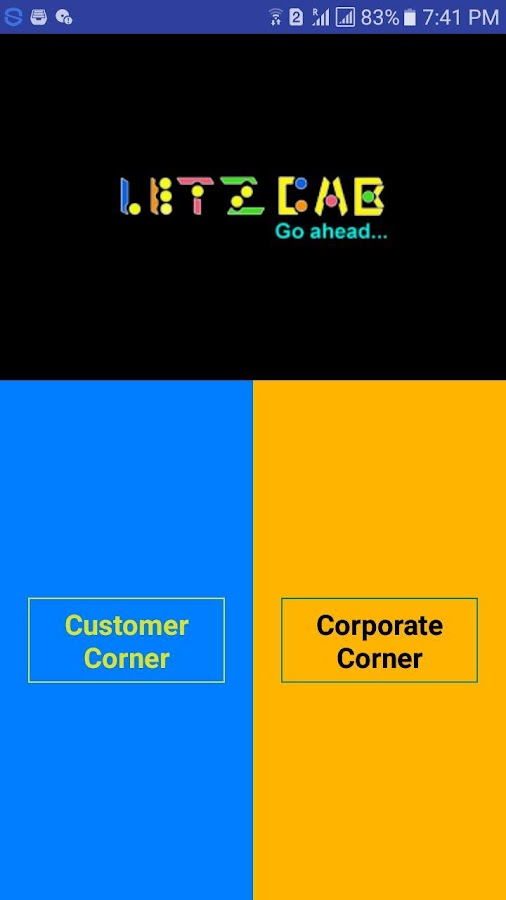 LetzCab Customer - Easy Cab Booking (Unreleased)- screenshot