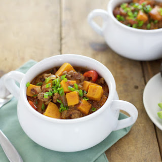 Slow Cooker Sweet Potato Chili.