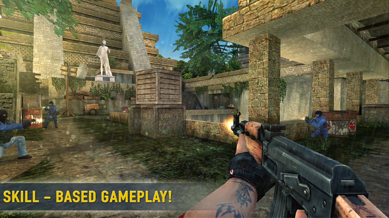 Counter Attack 3D - Multiplayer Shooter- screenshot