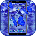Lilac Water Butterfly Theme icon