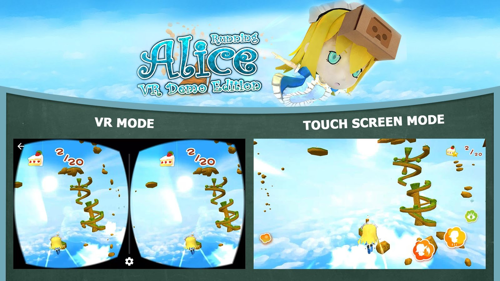 Alice Running VR Demo Edition- screenshot