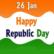 Happy Republic Day Greetings India - 26 January