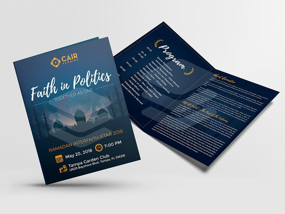 professional brochure design inspiration