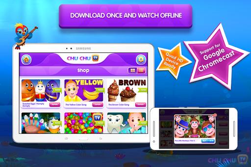 ChuChu TV Lite - Top 50 Kids Nursery Rhymes Videos 3.0 screenshots 2