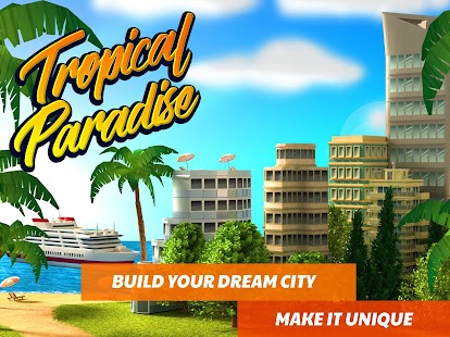 Tropic Paradise Sim: Town Building City Island Bay- screenshot thumbnail