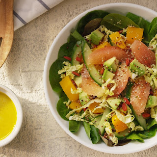 Florida Grapefruit Super Salad