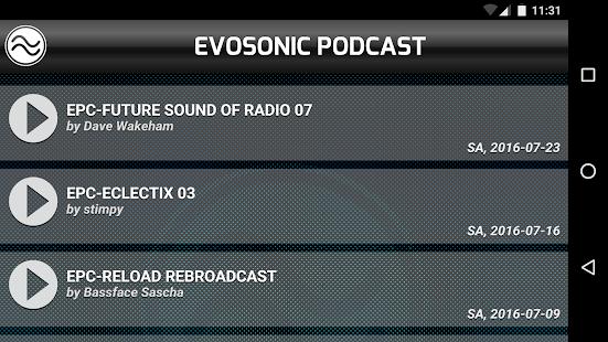 Evosonic Podcast - náhled