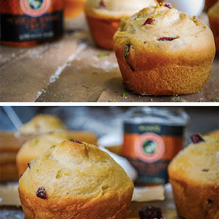 Breakfast Blueberry and Orange Muffins