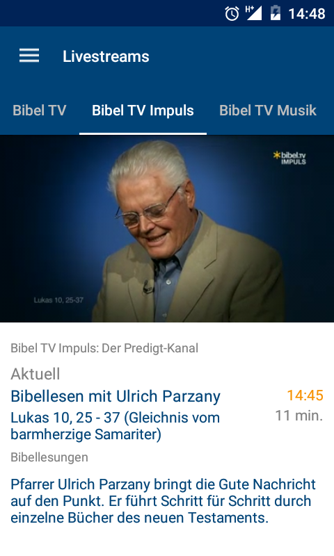 Bibel TV- screenshot