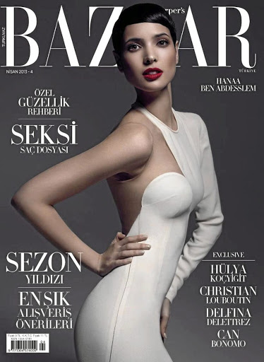 Hanaa ben Abdesslem graces a cover.