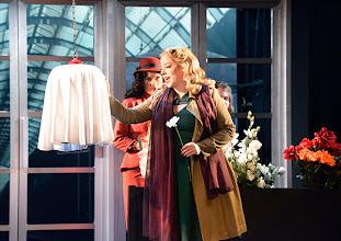 Photo: Wiener Kammeroper/ Theater an der Wien: RINALDO. Inszenierung Christiane Lutz. Premiere 4.12.2014. Natalia Kawalek-Plewniak, Ganya Ben-Gur Akselrod. Foto-Copyright: Barbara Zeininger