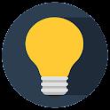 One tap Flashlight icon