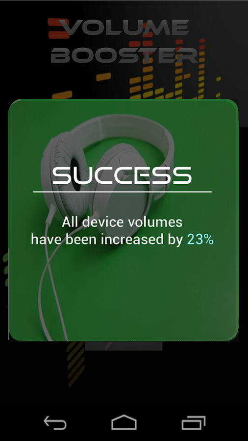 Screenshots of Super Volume Booster for iPhone