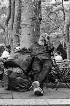 Photo: dream of sheep Bryant Park, New York City 2012 www.leannestaples.com #newyorkcityphotography  #blackandwhitephotography  #streetphotography +Arnold Goodwayfor #streetpics  #shootthestreet