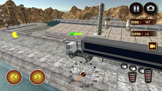 přepravce truck sim - náhled