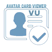 VU Avatar Card Viewer