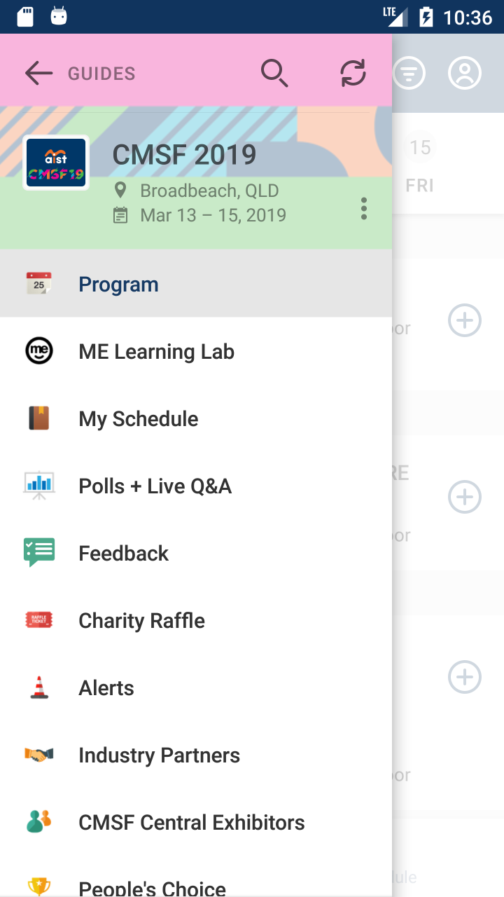 Скриншот AIST Events