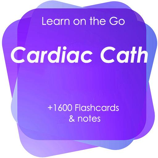 Cardiac Cath Test Bank Notes, Flashcards & Quizzes Android APK Download Free By Brightson Learners Inc.
