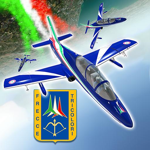 Frecce Tricolori Flight Sim Icon
