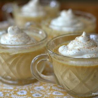 Pumpkin Pot de Crème with Maple Whipped Cream