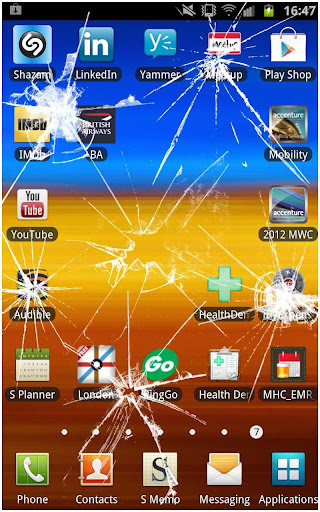玩休閒App|屏幕裂纹恶作剧免費|APP試玩