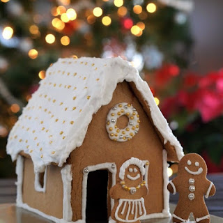Dairy Free Gingerbread House Recipes