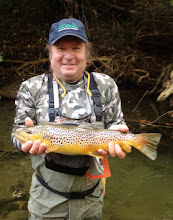 Photo: Steve Buckley on the Mad yesterday with Lou. He and his step-son Mike Rutter hired us as guides (again) for a father/son fishing outing. They both scored big! Thanks for the repeat biz and the continued support guys....we appreciate it. See a few posts back for Mike's pic.