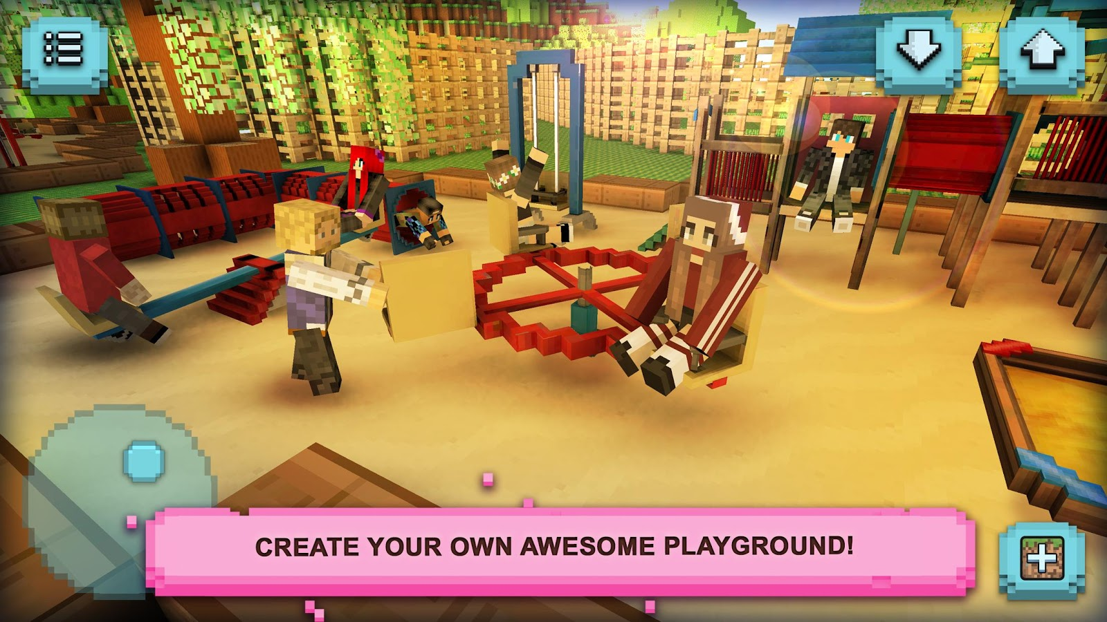 Playground craft build play android apps on google play for Good craft 2 play store