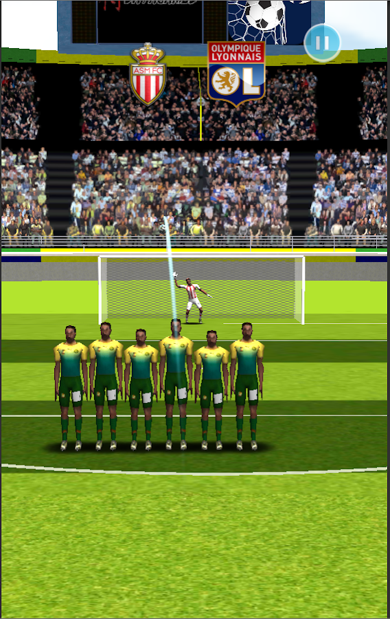 Click Soccer Champions League- screenshot