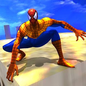 Super Hero Survival Flying Spider