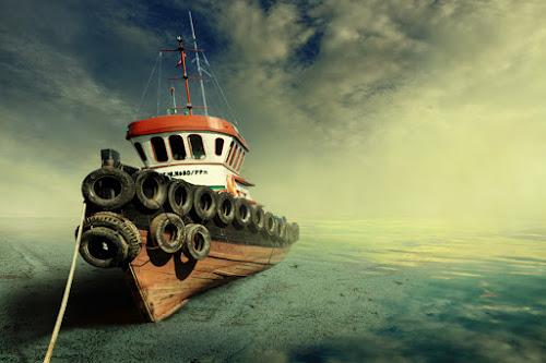 Drought by Ahay Gart - Transportation Boats