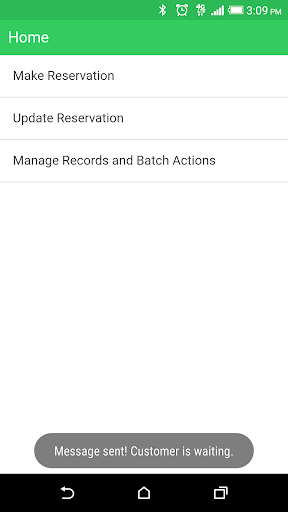 Simple Reservations