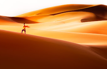 Photo: I think deserts and the sand dunes in particular are one of the most inspiring places I have ever visited. Not sure what it is - the shapes, the silence, the colors... Probably a combination of all of these. Have a great weekend G+.  #PlusPhotoExtract #photography #potd #FineArtPls